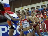 """AFP/""""Scanpix"""" nuotr./Pekiakovės nugalėtoja Ana Bogdanova iš Rusijos"""