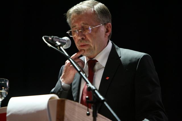 Dabartinis LSDP pirmininkas Gediminas Kirkilas
