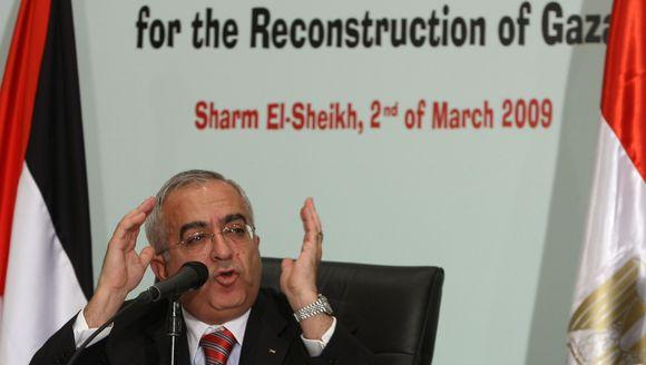 Atsistatydina Palestinos ministras pirmininkas S.Fayyadas.