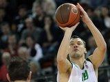 """AFP/""""Scanpix"""" nuotr./Š.Jasikevičius pelnė 15 taškų."""