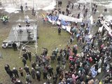 Alvydo Opulskio/15min.lt nuotr./Studentų protestas