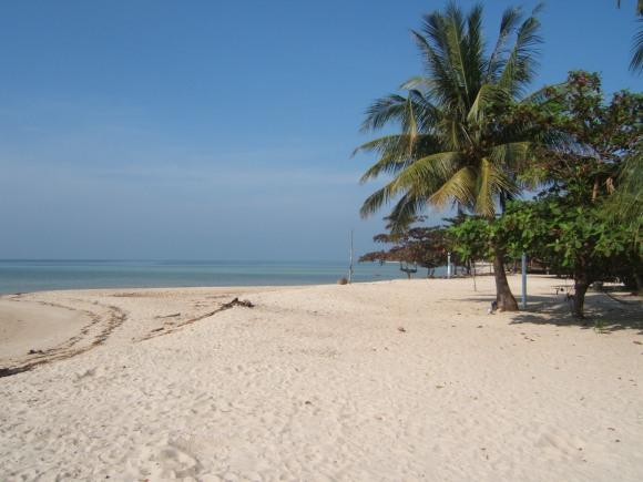 Paplūdimys Tailando saloje