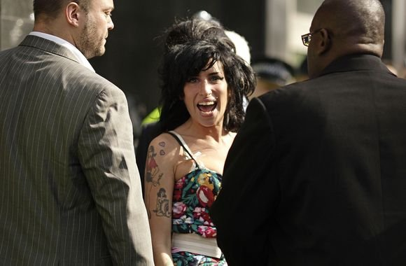 AFP/Scanpix nuotr./Amy Winehouse aypsena