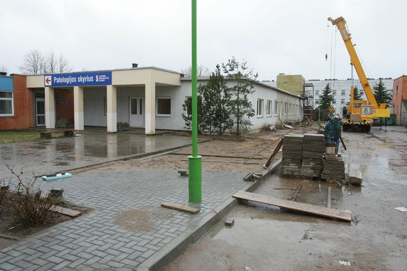 Teismo medicinos instituto Klaipėdos skyriaus patalpų rekonstrukciją ketinama užbaigti iki vasaros pabaigos.