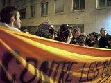 lenta.ru/AFP nuotr./Paryžiuje naktį kilo studentų riaušės.