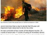 """""""Sky News"""" nuotr./Automobilių mechanikas 2006-aisiais sukėlė gaisrą, išplitusį visoje Kalifornijoje."""
