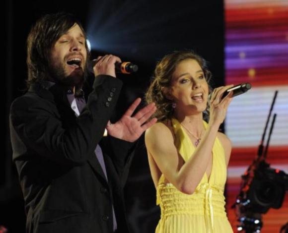 Slovakijos duetas Kamil Mikulčik ir Nela Posickova