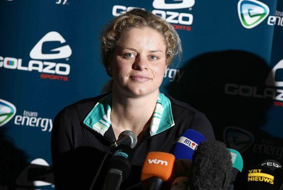 K.Clijsters paskelbė, kad kupina jėgų pratęsti tenisininkės karjerą.