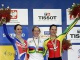 """""""Reuters""""/""""Scanpix"""" nuotr./V.Sereikaitė (dešinėje) laimėjo pasaulio čempionato bronzą."""