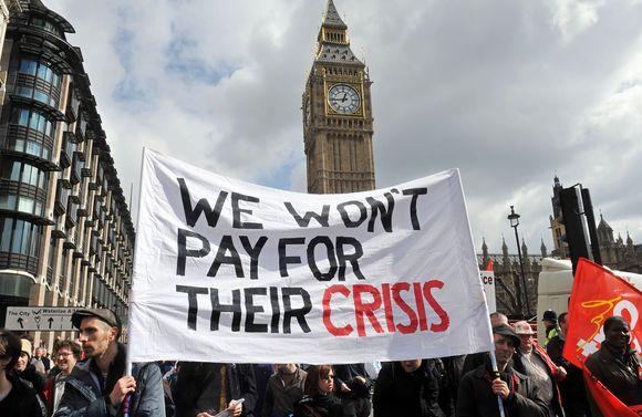 Londone prasideda protestai prieš G-20 viršūnių susitikimą.