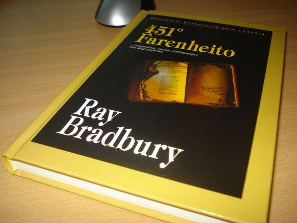 Redos Barkauskaitės nuotr./Vienas mano labai gerbiamas dėstytojas apie Ray Bradbury sakė:  Man jis nepatinka. Negana to  aa juo alykačiuosi. Bet ar galiu pasakyti, kad jis ne genijus? Negaliu.
