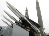 """""""Reuters""""/""""Scanpix"""" nuotr./Raketos Šiaurės Korėjoje"""