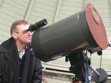 R.Medonio nuotr. /Dangaus mylėtojus astronomų klubas Katedros aikštėje supažindins su teleskopais bei leis iš arčiau pažvelgti į ryškesnius dangaus kūnus.