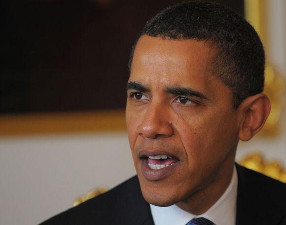 """JAV prezidentas Barackas Obama paragino Šiaurės Korėją susilaikyti nuo tolesnių """"provokuojamų veiksmų""""."""