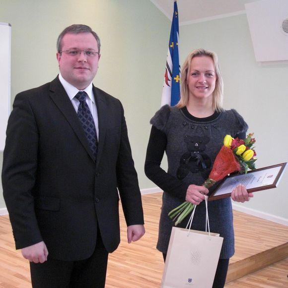 Simona Krupeckaitė ir Viktoras Trofimovas
