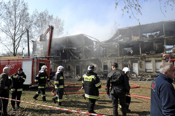 Sudegęs pastatas