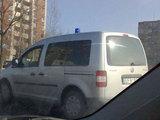 15min.lt skaitytojo Andriaus D. nuotr./Paslaptingasis policijos automobilis