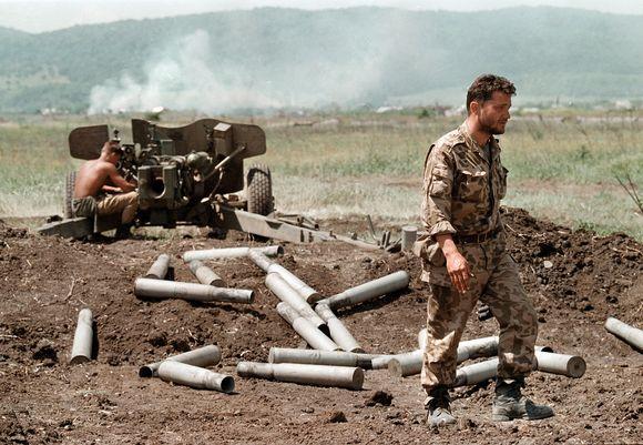 Rusijos kariai Čečėnijoje