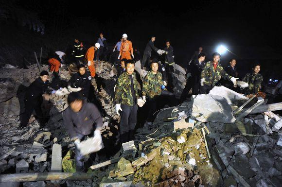 Anglies kasykloje Kinijoje nugriaudėjo sprogimas.