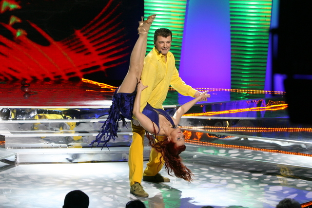 D.Mertinas ir A.Cicėnaitė pribloškė publiką originalumu.