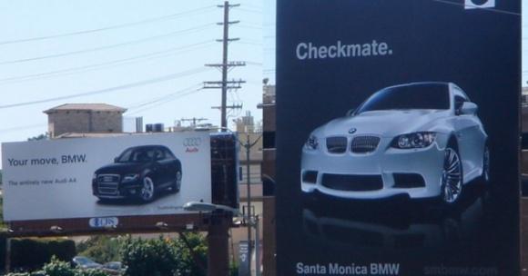 AUDI ir BMW karas Kalifornijoje