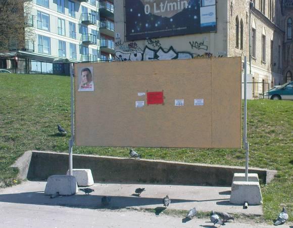 Neįspūdingo populiarumo kandidatas į prezidentus A.Butkevičius bando pagerinti savo reitingus karštligiškai reklamuodamasis.