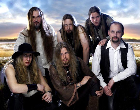 """Suomijos metalo grupė """"Korpiklaani"""""""