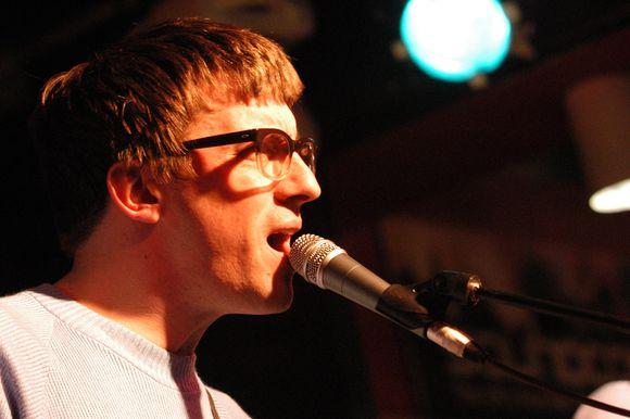 """Grupės """"Blur"""" gitaristas Grahamas Coxonas"""