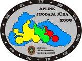 """""""Aplink Juodąją jūrą"""" logo"""