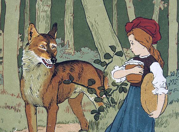 Raudonkepuraitė ir vilkas