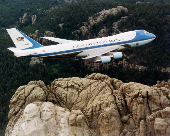 """JAV prezidento lėktuvas """"Boeing 747"""""""