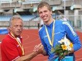 Alfredo Pliadžio nuotr./Raivydas Stanys su treneriu Algirdu Baranausku