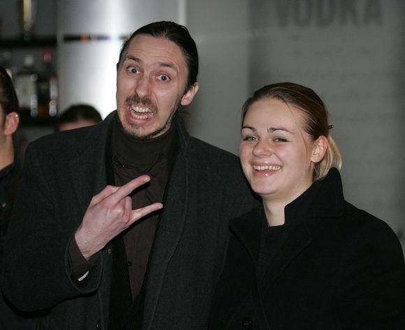 Marius Berenis su buvusia drauge Ieva Urbonaite