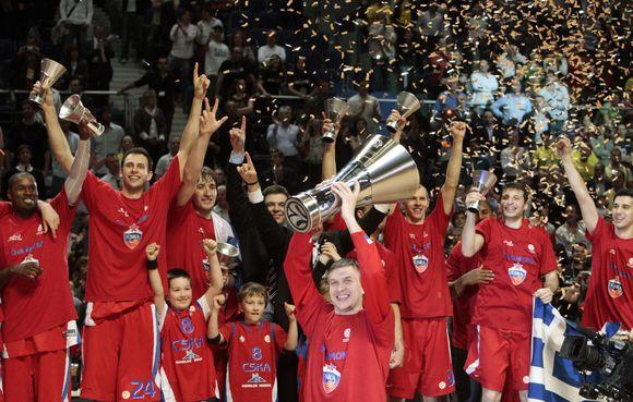 CSKA stengsis išlaikyti pernai iškovotą Eurolygos čempionų titulą