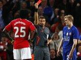 """""""Reuters""""/""""Scanpix"""" nuotr./D.Fletcheriui buvo parodyta abejotina raudonoji kortelė, o """"Arsenal"""" pelnė paguodos įvartį nuo 11 m žymos"""