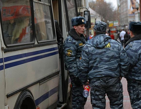 Rusijos milicininkai