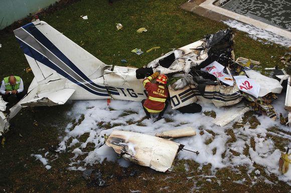 Gvatemaloje nukrito lėktuvas.