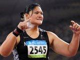 """""""Reuters""""/""""Scanpix"""" nuotr./Olimpinė čempionė rutulio stūmime Valerie Vili"""