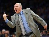 """Reuters""/""Scanpix"" nuotr./""Nuggets"" treneris G.Karlas nėra patenkintas"