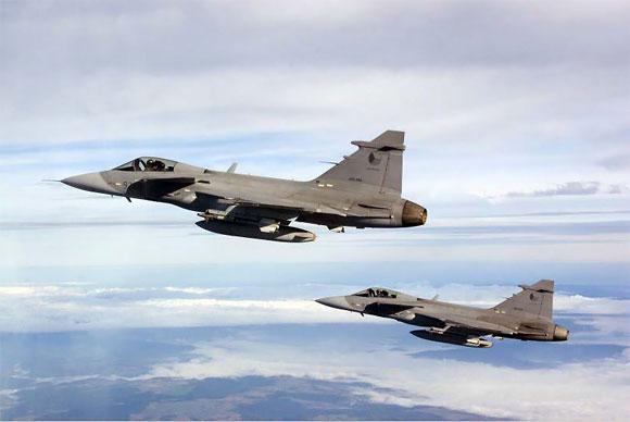 Baltijos šalių oro erdvę saugantys čekų naikintuvai