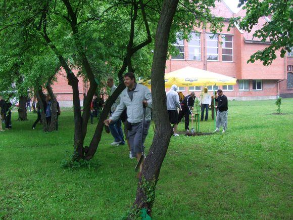 Ąžuoliuko sodinimo akcija