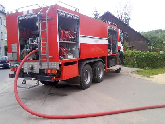 Kauno ugniagesių automobilis
