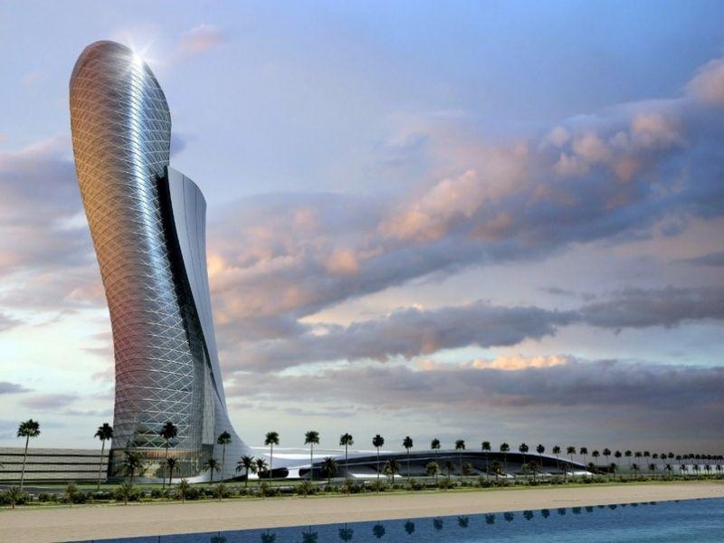"""""""Capital Gate"""" žada tapti naujuoju pastatų posvyrio rekordininku."""