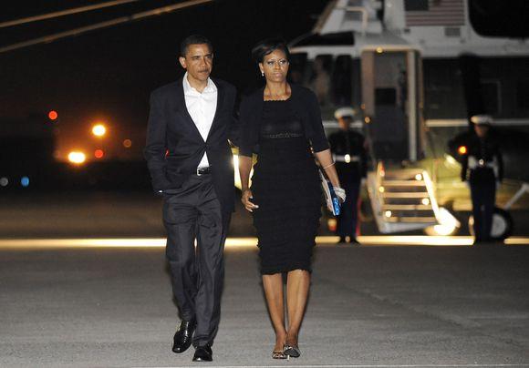 B.Obamos pasimatymas sulaukė kritikos