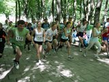 Organizatorių nuotr./Bėgimas Gargžduose