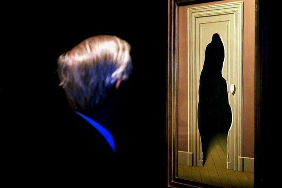 Scanpix nuotr./Rene Magritte kūriniai neįprati žiūrovo sąmonei.
