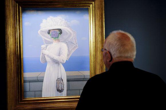 Rene Magritte kūrinys