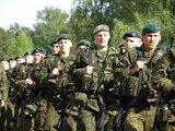 Vyresniojo seržanto Nerijaus Vito/KAM nuotr. /Pratybos Latvijoje