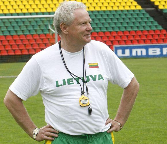 A.Liubinskas rengiasi daryti karjerą futbole