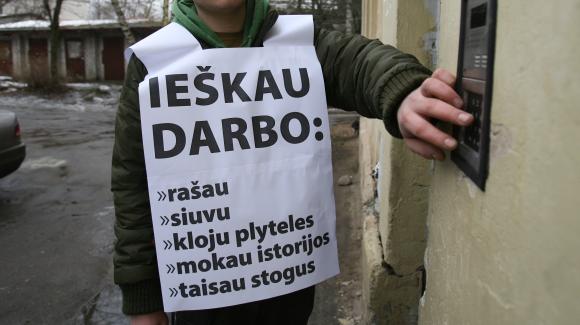 Gegužę į Klaipėdos darbo biržą kreipėsi daugiau nei 2 tūkst. bedarbių.